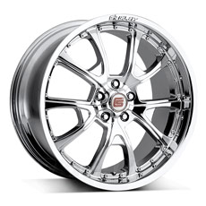 Chrome Shelby CS40 Wheels (2005-2009)