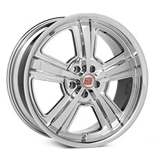 Chrome Shelby CS69 Wheels (2010-2014)