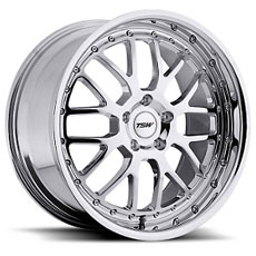 Chrome TSW Valencia Wheels (1999-2004)