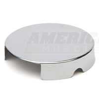 Chrome Windshield Washer Reservoir Cap Cover (86-95 5.0L; 96-97 4.6L)