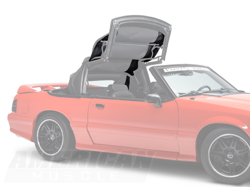 Mustang Convertible Top Pads 91 93 All Free Shipping