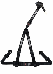 "Corbeau 2"" 3-Point Retractable Bolt-"" Harness (79-14 All)"