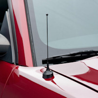 Fixed Black Antenna - 8 inch (79-09 All)