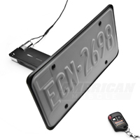 Flip Down License Plate Holder - Motorized (79-14 All)