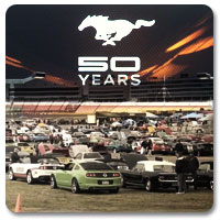 Ford Mustang 50th Birthday Celebration