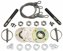 Ford Racing Hood Latch and Pin Kit (79-04 All)