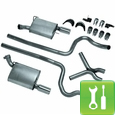 Ford Racing V6 Performance Dual Exhaust Kit (05-09) - Installation Instructions