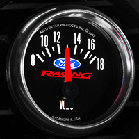 Ford Racing Voltmeter Gauge (79-14 All)