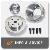 Fox Body Engine Pulley & Accessory Options