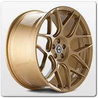 Gold Mustang Wheels