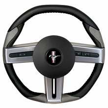 Grant Steering Wheel - Black/Gray (05-09 All)