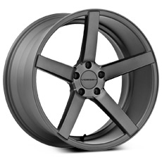 Matte Graphite Vossen CV3 Wheels (2005-2009)