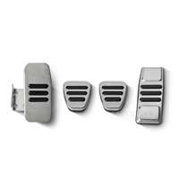 GT500 Style Pedal Covers - Manual (05-14 All)