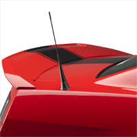 3dCarbon GT500 Style Spoiler - Unpainted (10-14 All)