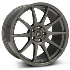 Gunmetal Forgestar CF10 Monoblock Wheels (2005-2009)