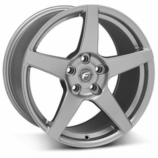 Gunmetal Forgestar CF5 Wheels (05-09)