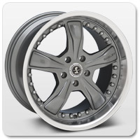 Gunmetal Mustang Wheels