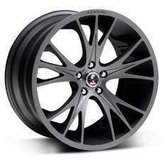 Gunmetal Shelby CS1 Wheels (2010-2014)