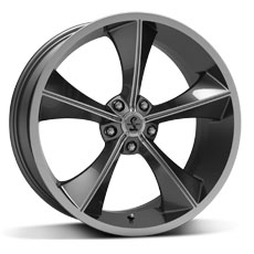 Gunmetal Shelby CS70 Wheels (2010-2014)