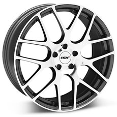 Gunmetal TSW Nurburgring Wheels (99-04)