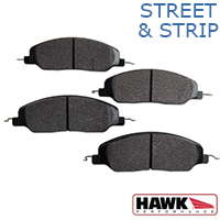 Hawk Performance HPS Brake Pads - Front Pair (05-14 GT, V6)