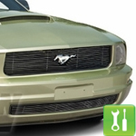 How to Install a Billet Grille for a 2005-2009 Mustang V6