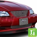 How to Install a Pony Delete Billet Grille for a 1999-2004 Mustang