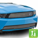 How to Install a Retro Billet Grille for a 2010-2012 Mustang GT