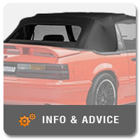 How to Replace a Fox Body Convertible's Top