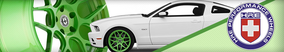 HRE Mustang Wheels