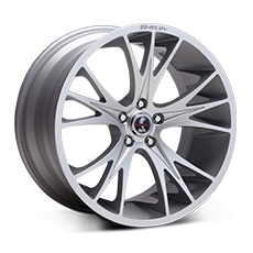 Hyper Silver Shelby CS1 Wheels (2010-2014)