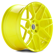 Hyper Yellow HRE Flowform FF01 Wheels (2010-2014)