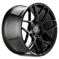 Liquid Black HRE Flowform FF01 Wheels (2010-2014)