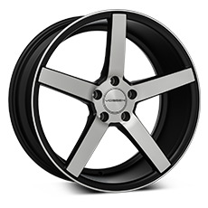 Machined Black Vossen CV3 Wheels (2010-2014)