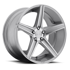 Machined Silver Niche Apex Wheels (2010-2014)