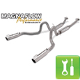 Magnaflow 'MagnaPack' ('99-'04 GT / Mach 1 / Bullitt) - Installation Instructions