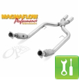 Magnaflow Tru-X X-Pipe (Catted, '05-'09 Mustang GT) - Installation Instructions