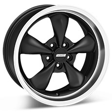 Matte Black Bullitt Wheels (10-14)