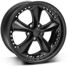 Matte Black Foose Nitrous Wheels (10-14)