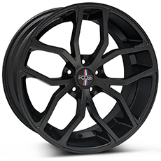 Matte Black Foose Outcast Wheels (2010-2014)