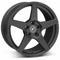 Matte Black Forgestar CF5 Wheels (10-14)