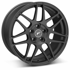 Matte Black Forgestar F14 Wheels (10-14)