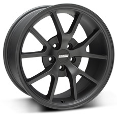 Matte Black FR500 Wheels (1999-2004)
