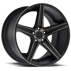 Matte Black Niche Apex Wheels (2005-2009)