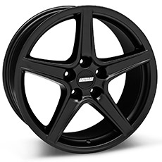 Matte Black Saleen Style Wheels (99-04)