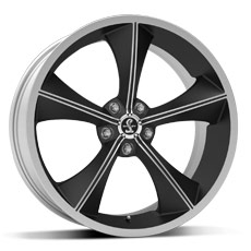 Matte Black Shelby CS70 Wheel (2010-2014)