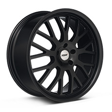 Matte Black TSW Tremblant Wheels (2005-2009)