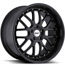 Matte Black TSW Valencia Wheels (10-14)