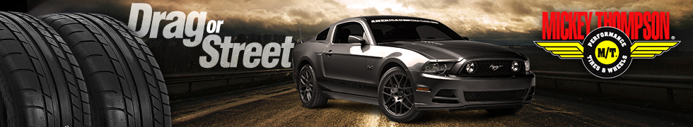 Mickey Thompson Performance Mustang Tires and Wheels