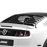 MMD ABS Rear Window Louvers (05-14 All)